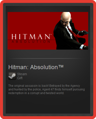 Hitman: Absolution (ROW) - steam gift + discount
