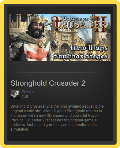 Stronghold Crusader 2 (ROW) - steam gift + discount
