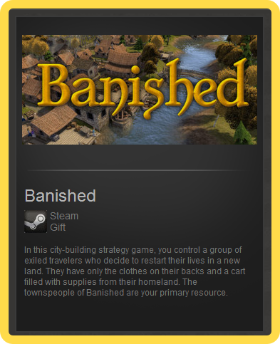 Banished (ROW) - steam gift + present + discount