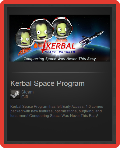 Kerbal Space Program (ROW) - steam gift + discount