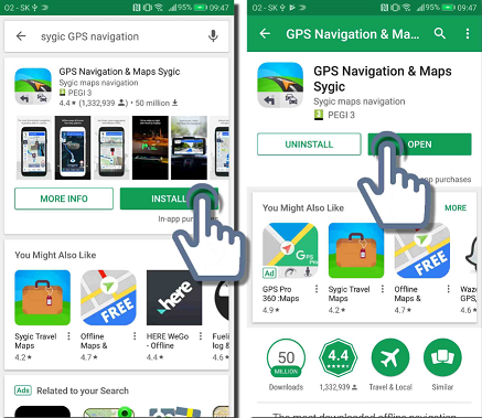 Buy Sygic GPS Navigation Premium +Traffic World for Android and download