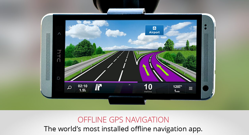 Sygic GPS Navigation Premium for Android World+Traffic