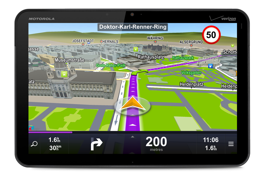 how to download navigation maps on android