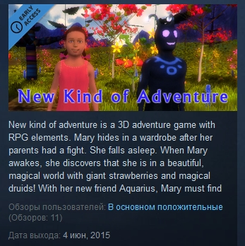 New Kind Of Adventure ( Steam Key / Region Free )