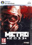 Metro 2033 (Steam key key / Region Free) + SMS payment