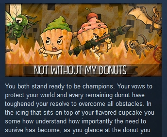 Not without my Donuts ( Steam Key / Region Free )