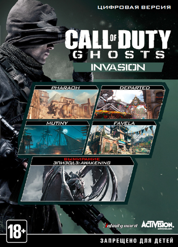 Call of Duty: Ghosts DLC 3 Invasion STEAM KEY RU + CIS