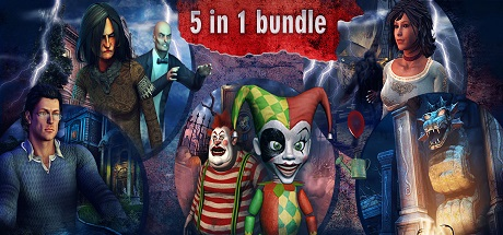 Hidden Object Bundle 5 in 1 ( steam key region free )