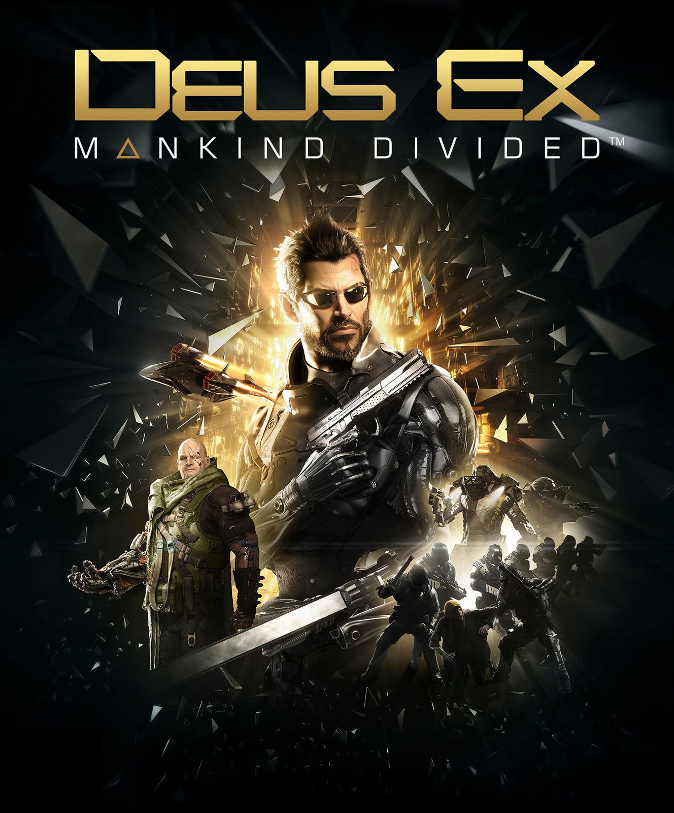 Deus Ex: Mankind Divided Day One Edition - STEAM KEY RU