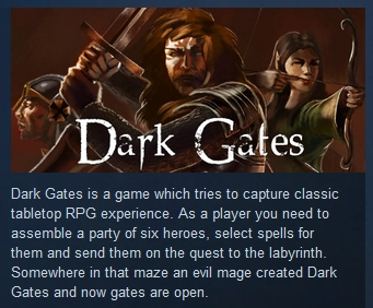 Dark Gates ( Steam Key / Region Free )