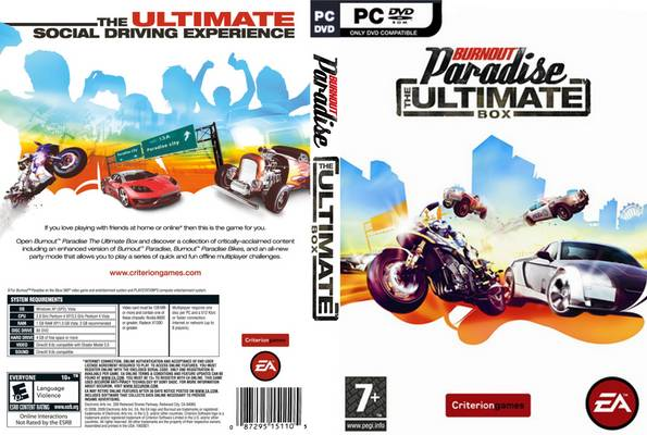 Burnout Paradise: The Ultimate Box EU / RU (Origin / Fr