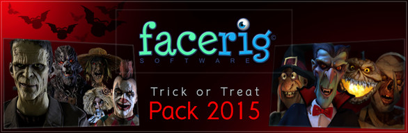 FaceRig Treat or Trick Pack 2015 (RU+CIS**)