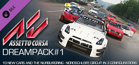 Assetto Corsa - Dream Pack 1 Steam Gift (RU+CIS**)