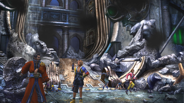FINAL FANTASY X/X-2 HD Remaster Steam Gift (RU+CIS)