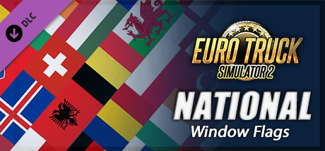 Euro Truck Simulator 2 - National Window Flags Steam RU