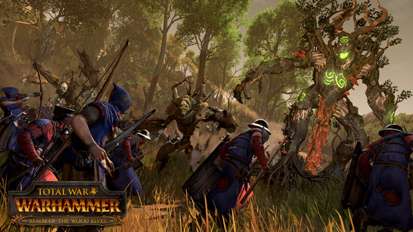 Total War: WARHAMMER - Realm of The Wood Elves Steam RU