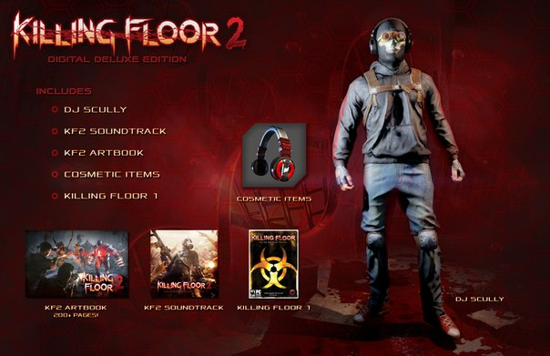 Killing Floor 2 DELUX EDITION Steam Gift (RU + CIS **)