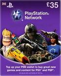 Playstation Network PSN  £ 35 (UK)