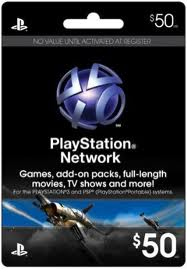 Playstation Network PSN $ 50 (USA) + Discount