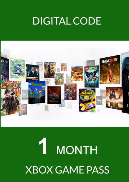 Xbox Game Pass 1 month Xbox One