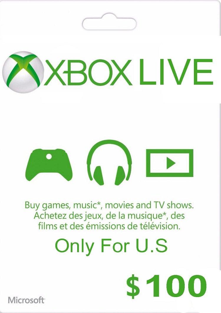 Xbox Gift Card $100 USA  + Скидки