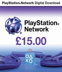 Playstation Network PSN £15 (UK)