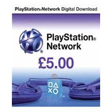 Playstation Network PSN £5 (UK)
