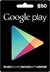 Google Play Gift $50