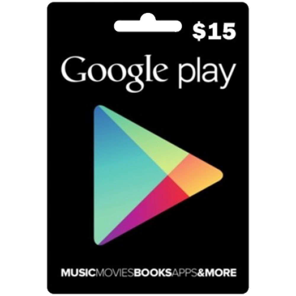 Google Play Gift $15