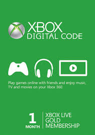 Xbox Live Gold - 1 month (Xbox One)