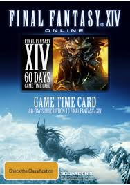Final Fantasy XIV: A Realm Reborn. Card payment 60 days