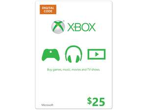 Xbox Gift Card $ 25 USA - Scan Card + Discounts