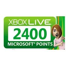 Gift Card Xbox 2400 points Russia (see the description)