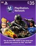 Playstation Network PSN £35 (UK) - Скидки