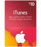 iTunes Gift Card  $10 USA + Скидки