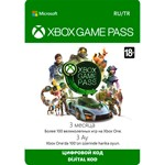 Xbox Game Pass 3 month Xbox One