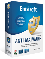 Emsisoft Anti-Malware 8.0 license key for 1 year / 1 PC
