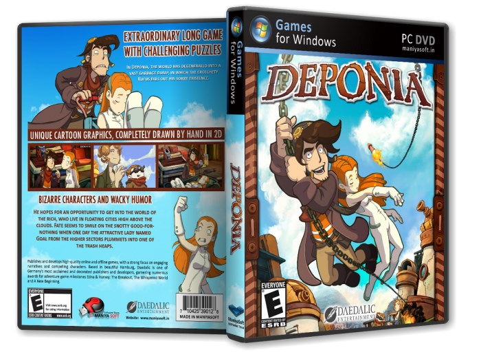 Deponia (Region Free / Steam)
