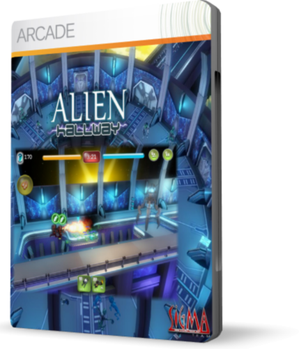 Alien Hallway - EU / USA (Region Free / Steam)