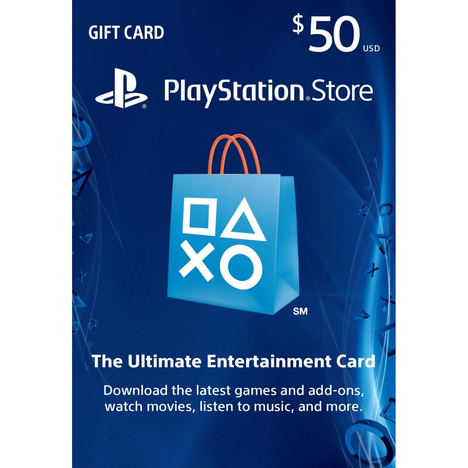 PLAYSTATION NETWORK - 50$ (USA)