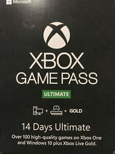 Xbox Game Pass Ultimate 14 day Global