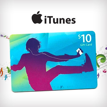 iTunes (US) 10 $ Gift Card - Gift Card Scan