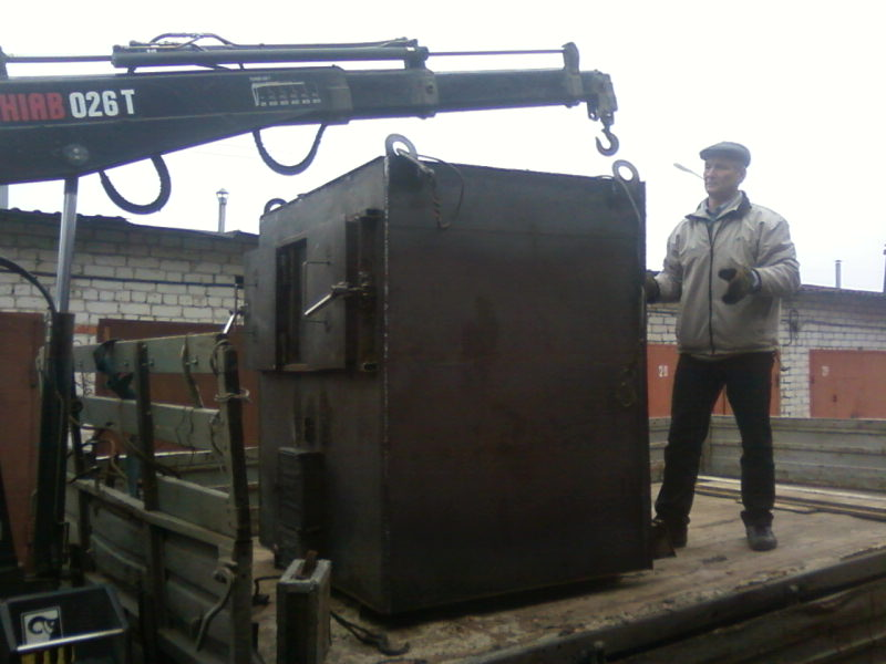Drawings pyrolysis boiler BLAGO at 35-100kvt.
