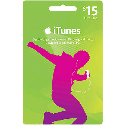 iTunes Gift Card 15$ USA (Фото карты/XX) + СКИДКИ
