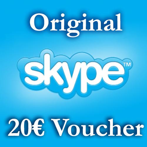 Купить 20EURO Скайп Ваучеры 2*10€ ≈23.2$ СКИДКА 18%