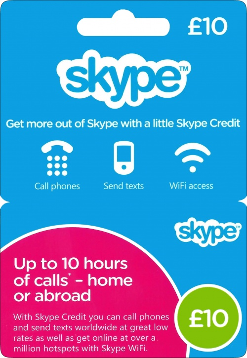 10GBP SKYPE=12,7$ Voucher Original 1*10£ Discount 27%