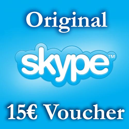 Купить 15EURO Скайп Ваучеры (5€+10€ ≈18.5$) СКИДКА 5%