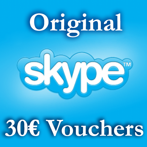 Купить 30EURO Скайп Ваучеры 3*10€ =30€ ≈35,1$ СКИДКА 12%