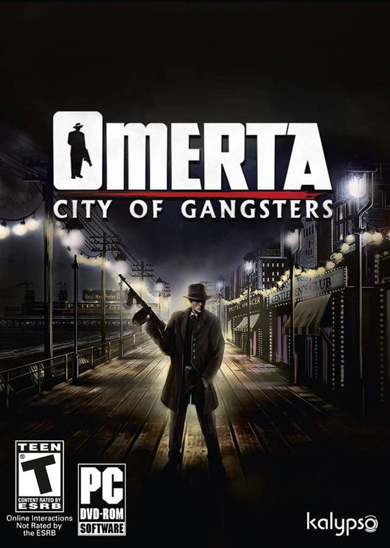 Omerta - City of Gangsters GOLD EDITION (region free)