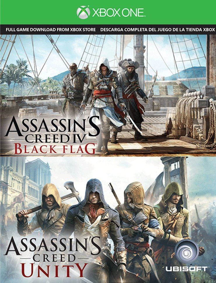 Assassins Creed Unity | AC IV Black Flag Xbox One ключ